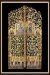 Wood carved Royal Doors